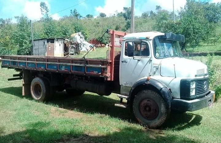 M-BENZ 1113 TURBO FREIOS AR 1968 full